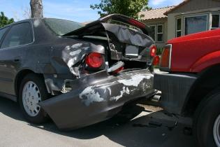 Car rear ended