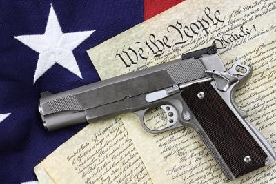 Gun over the Constitution