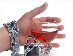 Handcuffed with beer in hand