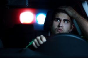 Pulled over by cop